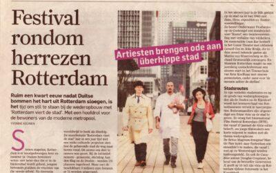 Festival rondom herrezen Rotterdam