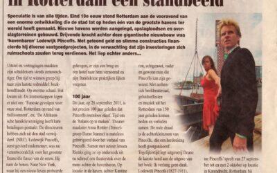 'Als je een oplichter bent, krijg je in Rotterdam een standbeeld'