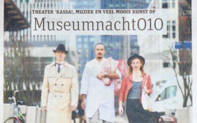 Theater Kassa!, muziek en kunst op Museumnacht 010.